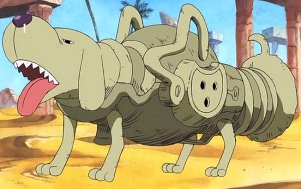 Top 10 Weirdest Devil Fruits - Lassoo-Inu Inu no Mi: Model Dachshund-Mutt Mutt Fruit - One Piece