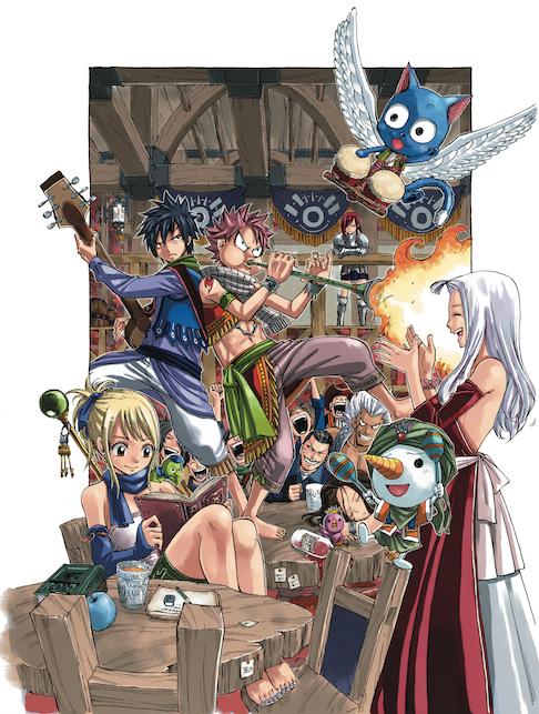 Manga Creator Spotlight Hiro Mashima On Fairy Tail Myanimelist Net