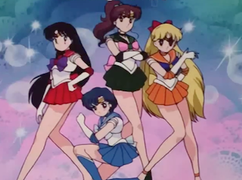 Sailor Moon, Sailor Soldiers 1