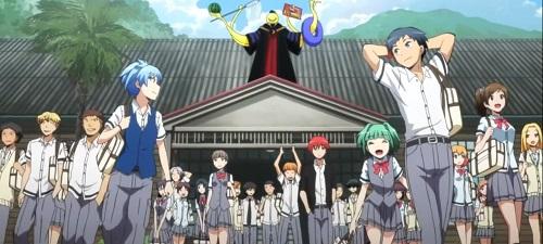 Kunugigaoka Junior High School, Ansatsu Kyoushitsu, Anime School