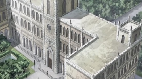 Cross Academy, Vampire Knight, Anime School