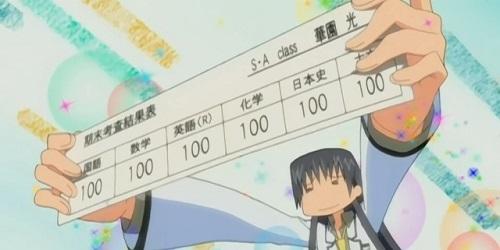 Hikari Hanazono, Special A, Anime School