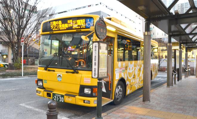 Bus at studio ghibli museum mitaka
