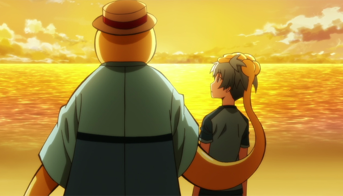 Assassination Classroom - Koro-sensei and Nagisa Shiota