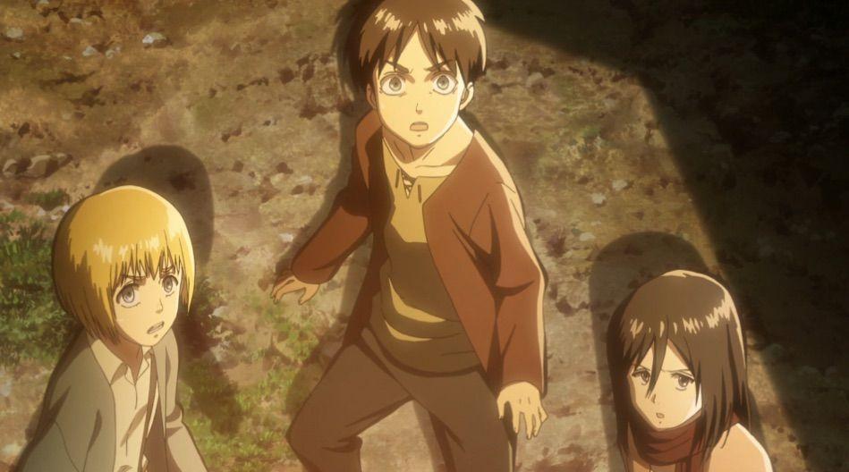 Shingeki no Kyojin Attack on Titan Cosplay Eren Mikasa Armin