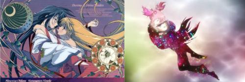 Mahou Shoujo Madoka☆Magika, puella magi madoka magica, Kannazuki no miko, homura akemi, madoka kaname