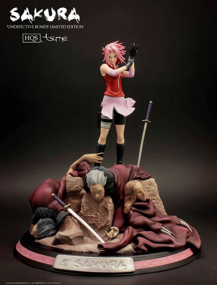 "Tsume Haruno Sakura ""Undefective Bonds"" Figure"