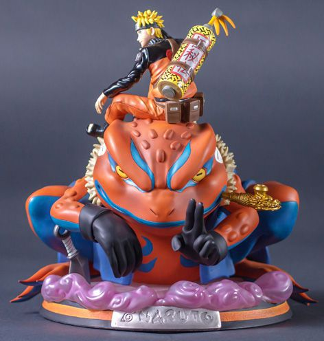 "Tsume Naruto Uzumaki ""HQS"" – Summon of Gamakichi Figure"