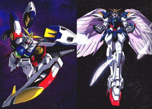 Mobile Suit Gundam Wing Wing Zero Gundams