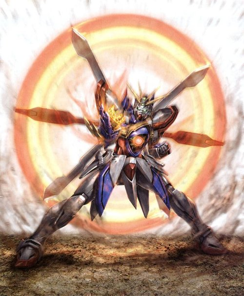Mobile Fighter G Gundam God, Burning Gundams