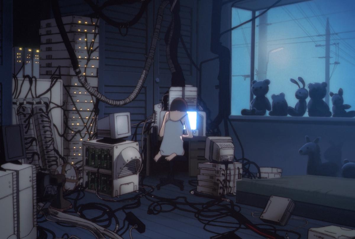 Lain Iwakura, Serial Experiments Lain, Film Noir