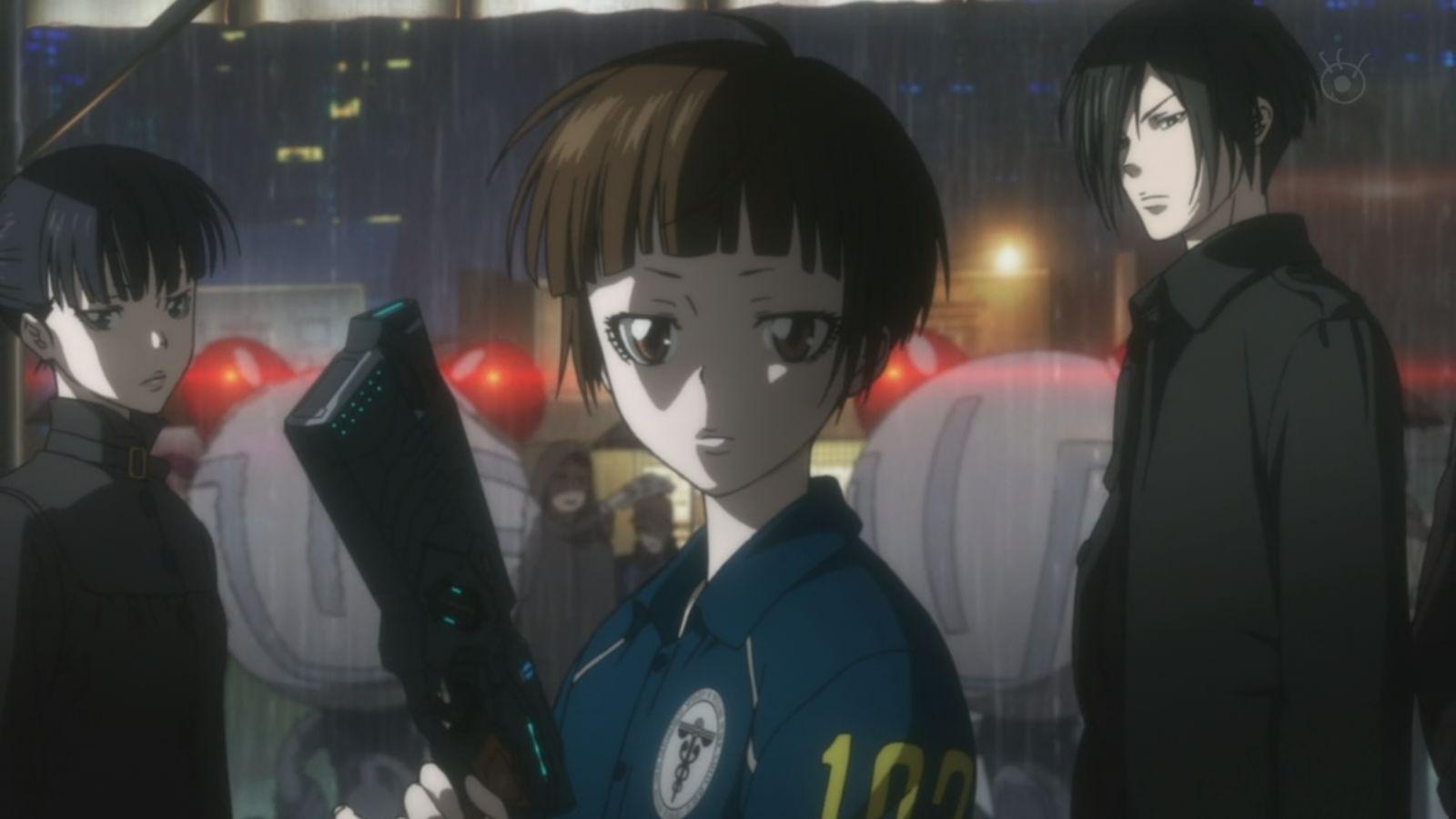 Shinya Kougami, Psycho-Pass, Film Noir