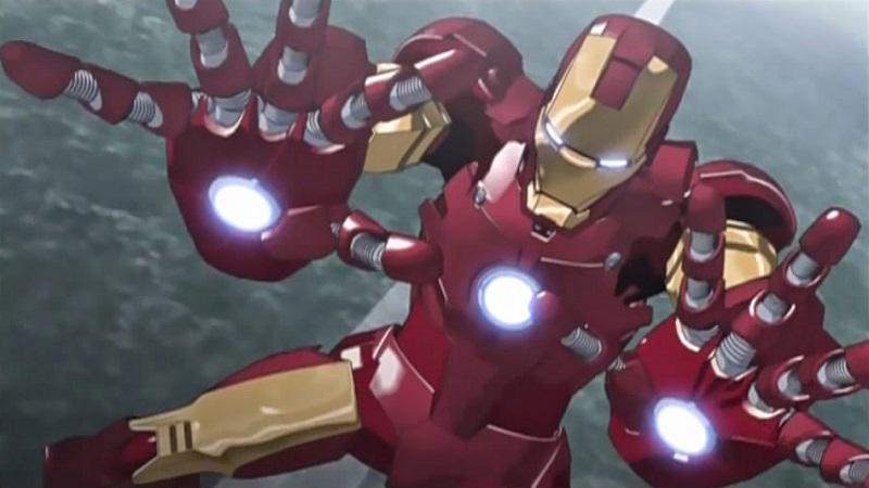 iron man us media to anime