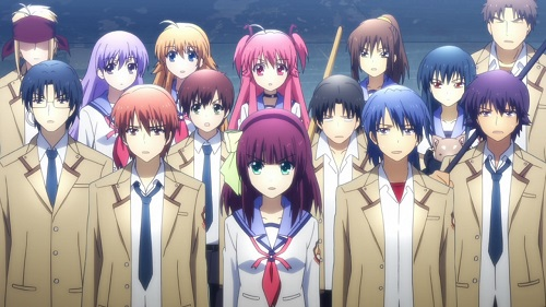 Like-Hell-I'm-Dead Battlefront, Angel Beats!, Anime Club