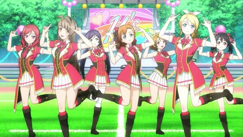 Muse, Love Live! School Idol Project, Anime Club