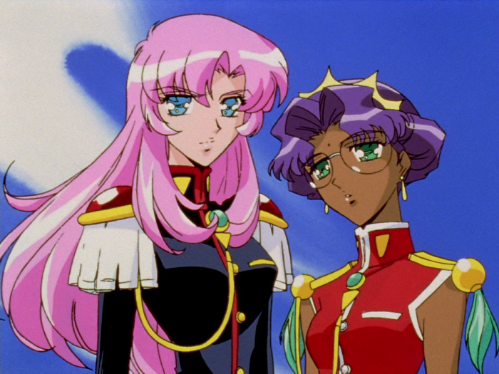 shoujo anime, Revolutionary Girl Utena, Utena Tenjou, Anthy Himemiya