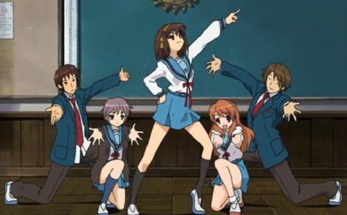S.O.S. Brigade, Suzumiya Haruhi no Yuuutsu, Anime Club