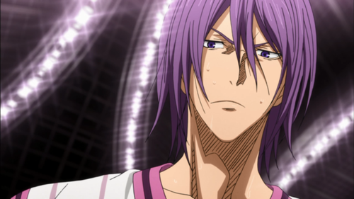 Murasakibara from Kuroko no Basuke is an athletic Dandere boy!
