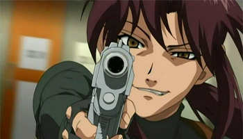 Black Lagoon - Revy Two-Hands good female character
