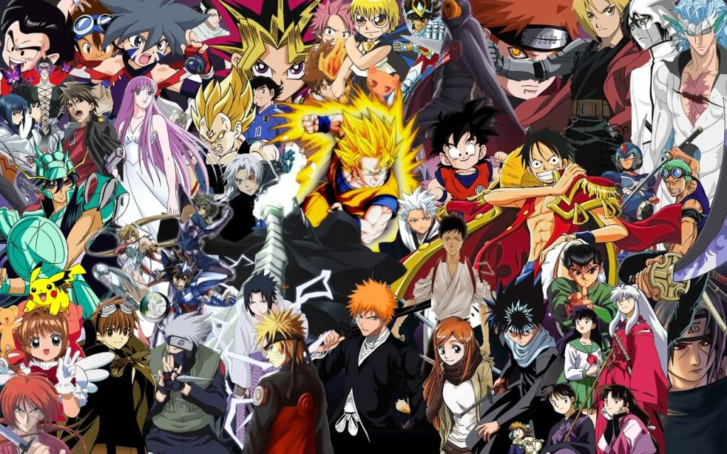 most popular anime characters 2016