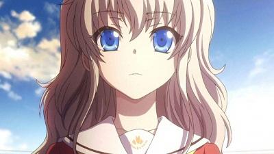 Tomori from Charlotte is the cutest waifu!
