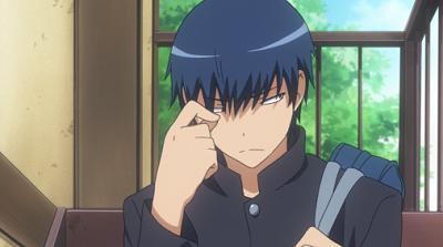 Ryuuji from Toradora is a handsome husbando!