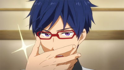 Rei from Free!! is a handsome anime husbando!