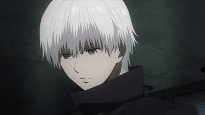 Ken Kaneki from Tokyo Ghoul is an