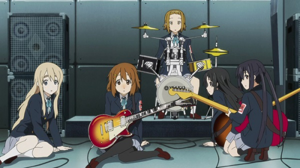 K-On! rock anime music