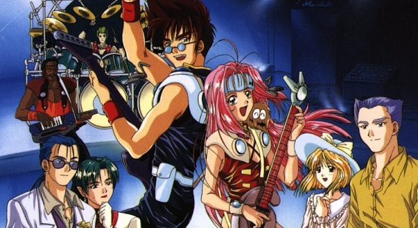 Macross 7 rock anime music