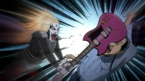 Detroit Metal City rock anime music