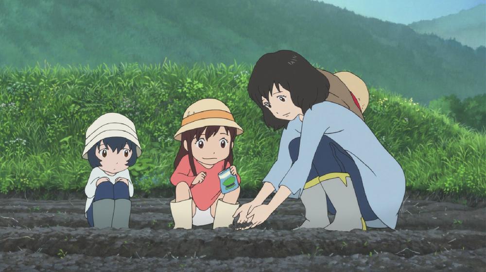 Wolf Children, Ookami Kodomo no Ame to Yuki