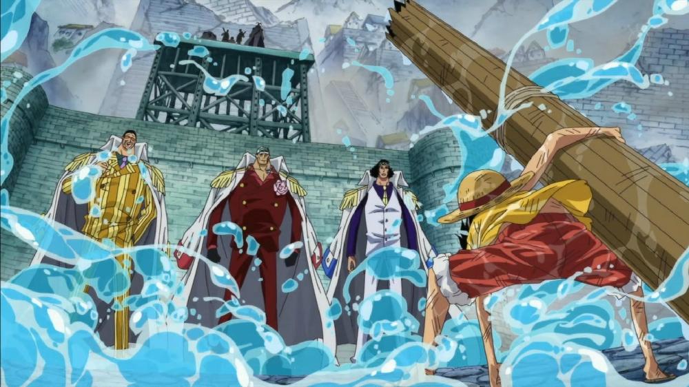 One Piece, Battle