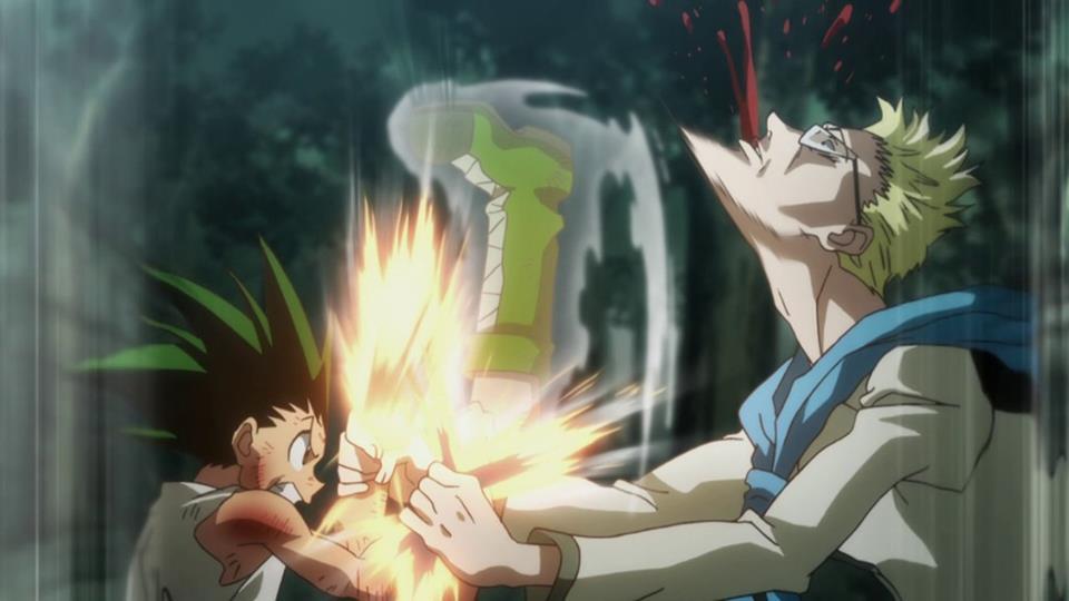 Hunter × Hunter, Gon Battle
