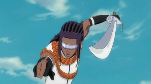 Bleach! Dark-skinned anime characters, Kaname Tousen