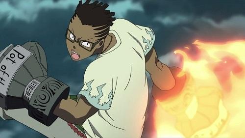 Soul Eater! Dark-skinned anime characters, Kilik Lunge