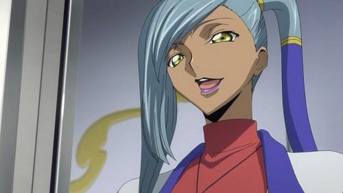 Code Geass: Hangyaku no Lelouch! Dark-skinned anime characters,