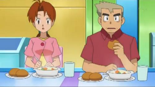 pokemon, delilah, professor oak, hanako