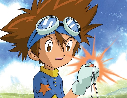 Taichi Yagami Digimon anime child