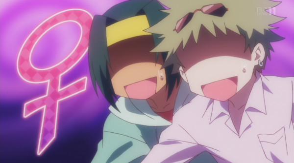 Himegoto genderbender anime crossdresser characters
