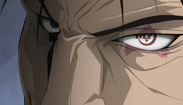 15 Powerful Anime Eyes - The Ultimate Eye- Bradley (Fullmetal Alchemist: Brotherhood)