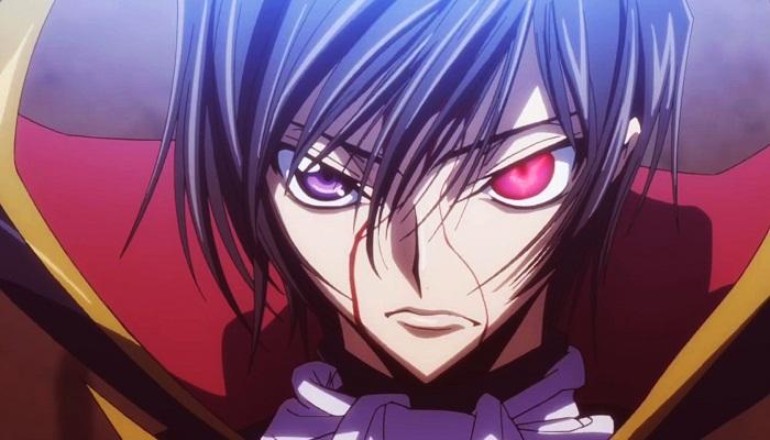 15 Powerful Anime Eyes - Geas – Lelouch (Code Geass)
