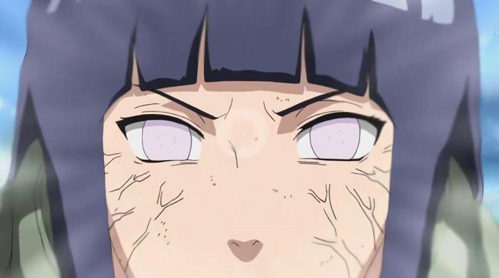 15 Powerful Anime Eyes - Byakugan – Hinata - Hyuuga Clan (Naruto)