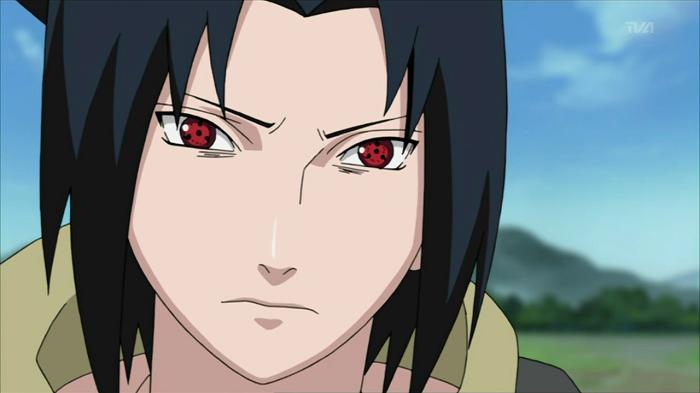 15 Powerful Anime Eyes - Sharingan – Sasuke - Uchiha Clan (Naruto)