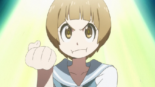 Short-Haired Girls Kill la Kill Mako Mankanshoku