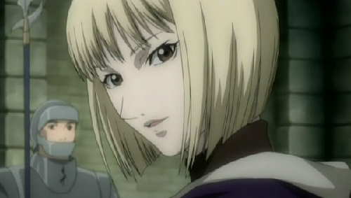 Short-Haired Girls Claymore Clare