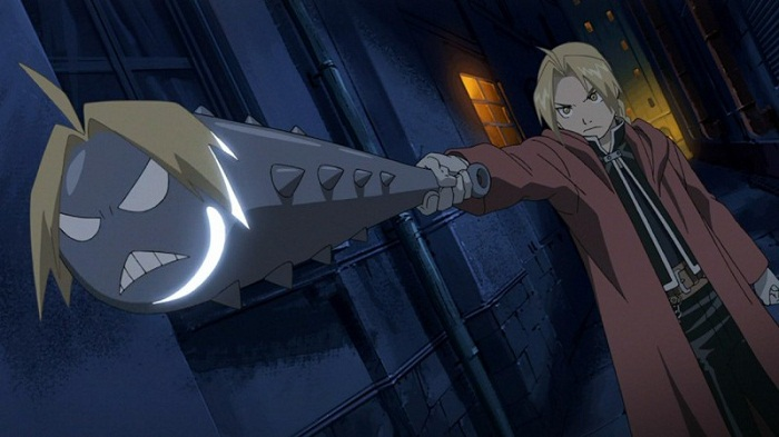 10 Anime Characters with Ahoge - Edward Elric (Full Metal Alchemist)