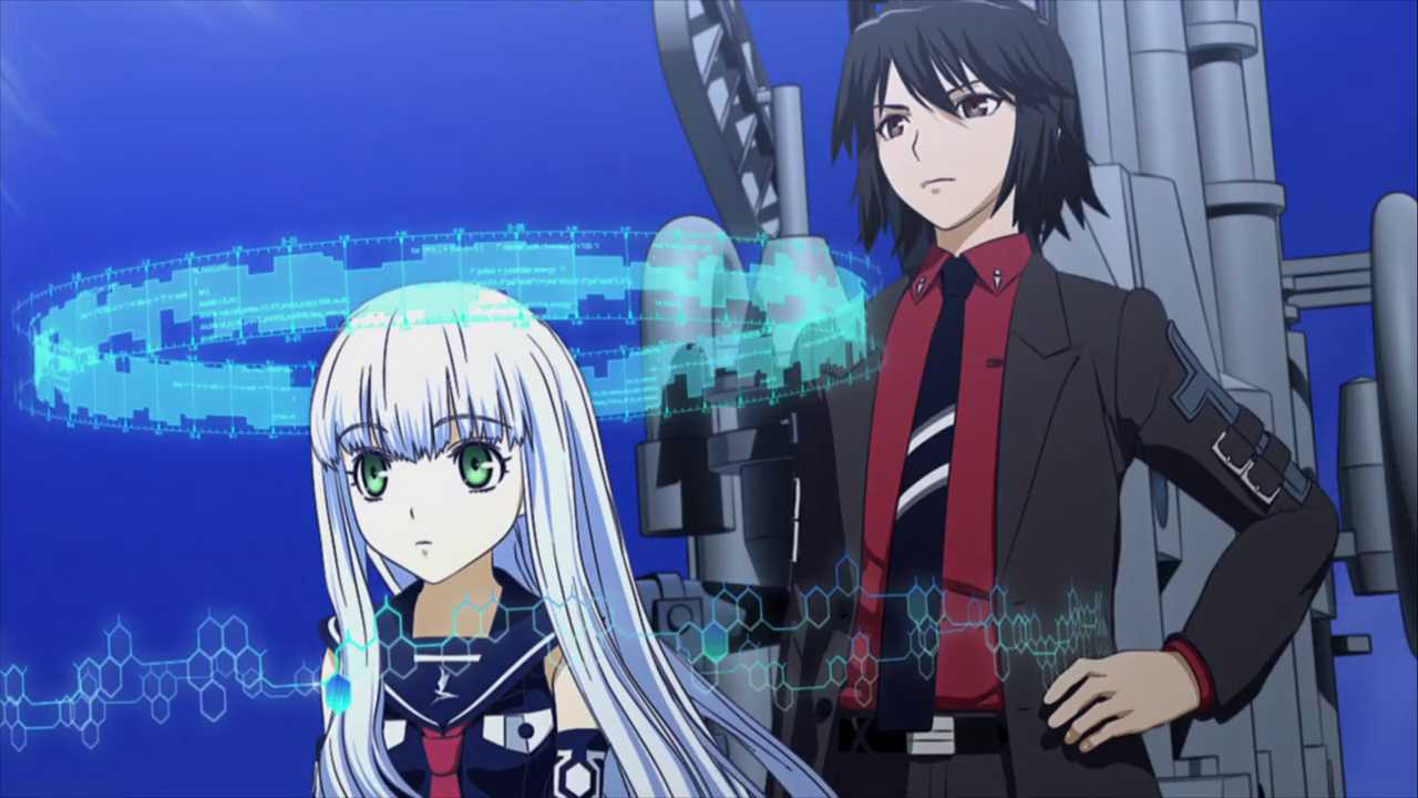 Aoki Hagane no Arpeggio: Ars Nova Blue Steel CG Anime
