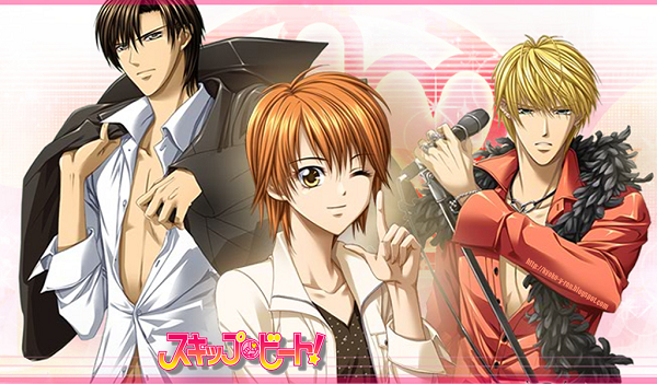 Anime Skip Beat Love Triangle