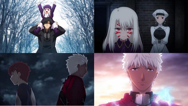 Ilyasviel von Einzbern Kiritsugu Emiya Fate/Zero anime eye